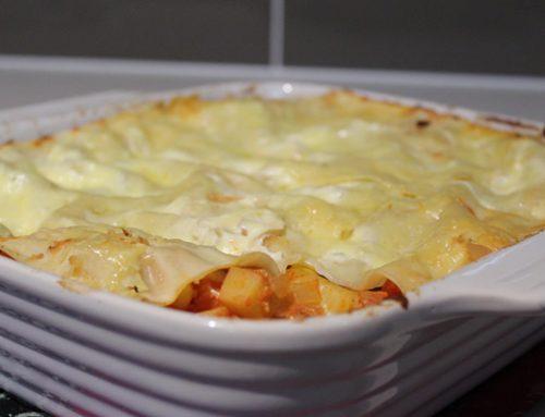 Vegetarian lasange with ricotta