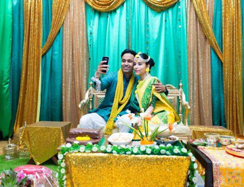 Pre-wedding / holud ceremony