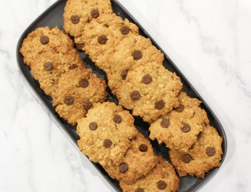Oatmeal and peanut butter cookies